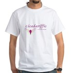 Cicadariffic White T-Shirt