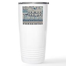 Cream colored apartment Travel Mug