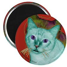 Cool Cat Art Magnet
