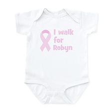 Walk for Robyn Infant Bodysuit