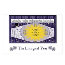 Liturgical Year Postcards (Package of 8)