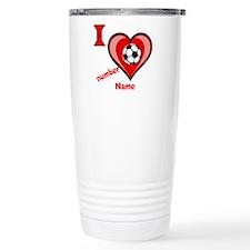 custom soccer Travel Coffee Mug