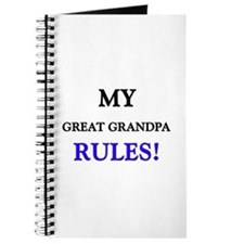 My GREAT GRANDPA Rules! Journal