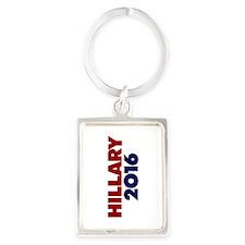 Hillary 2016 Portrait Keychain