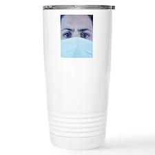 Surgical mask Travel Mug