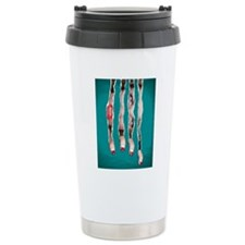 pissed Off Pinup Travel Coffee Mug
