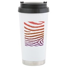 Cute Girly Jagged Zebra Travel Mug