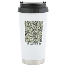 I am a very rich guy Travel Mug