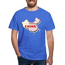 China Map T-Shirt