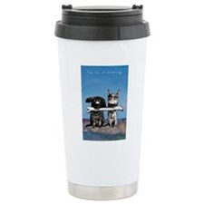 The Joy Of Sharing Travel Mug