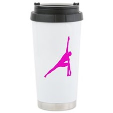 Bikram Yoga Triangle Po Travel Mug