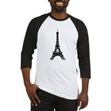 Eiffel Tower Baseball Jersey