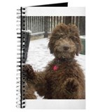 Cute Labradoodle Journal