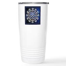 Hawthorn Rose Mandala w Travel Mug