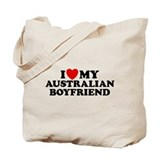 I Love My Australian Boyfriend Tote Bag