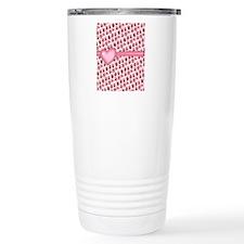 Pink Love Owls Travel Mug