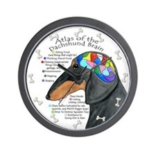 Dachshund Brain (BT) Wall Clock