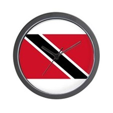 Trinidad & Tobago Flag Wall Clock