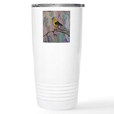 Song Bird Clock Travel Mug