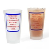 Beer pong Pint Glasses