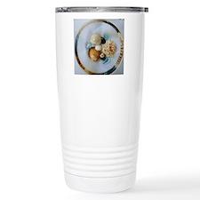 Seashell circle Travel Mug