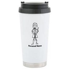 Personalized Super Girl Travel Coffee Mug