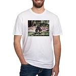 Kangaroo Mum Fitted T-Shirt