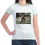 Kangaroo Mum Jr. Ringer T-Shirt