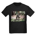 Kangaroo Mum Kids Dark T-Shirt