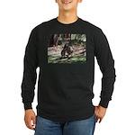 Kangaroo Mum Long Sleeve Dark T-Shirt