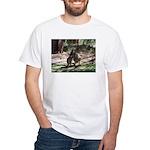 Kangaroo Mum White T-Shirt