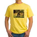 Kangaroo Mum Yellow T-Shirt