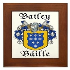 Bailey in Irish/English Framed Tile