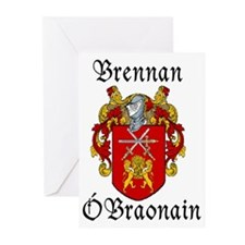 Brennan in Irish/English Greeting Cards (Pk of 10)