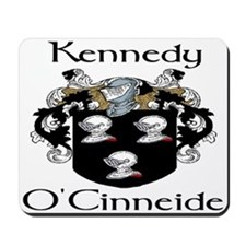Kennedy in Irish & English Mousepad