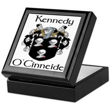 Kennedy in Irish & English Keepsake Box