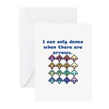 DDR Arrows Greeting Cards (Pk of 10)