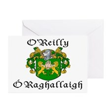 O'Reilly In Irish & English Cards (Pk of 10)