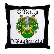 O'Reilly In Irish & English Throw Pillow