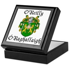 O'Reilly In Irish & English Keepsake Box