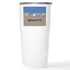 Personalizable Seashell Travel Mug