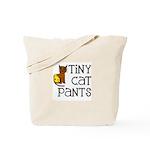 Tiny Cat Pants Tote Bag