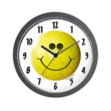 Bowling Smiley Wall Clock
