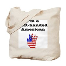 Left-handed American Tote Bag