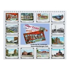 Ottumwa, Iowa Postcards Wall Calendar