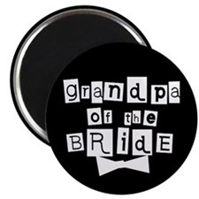 Grandpa of the Bride Magnet