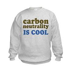 Carbon Neutrality Kids Sweatshirt