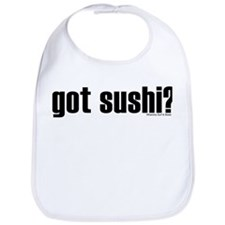 Got Shirtz? Got Sushi? Bib