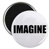 "Be Bold IMAGINE 2.25"" Magnet (100 pack)"