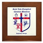 St. Luke's Framed Tile